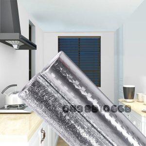 Cuộn giấy bạc dán bếp